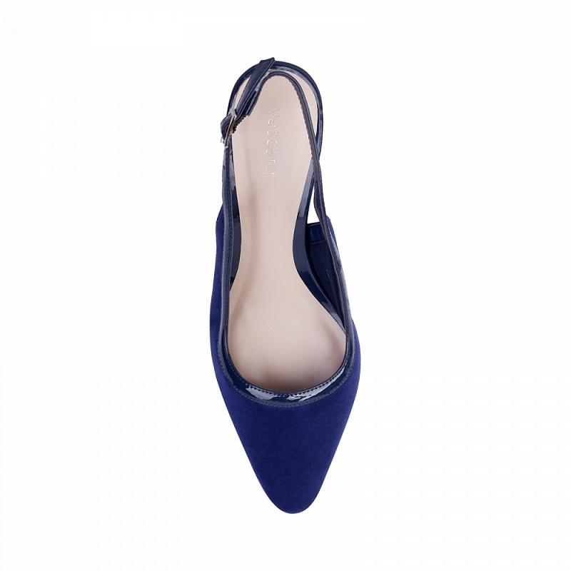 Giày bít nữ gót vuông BMN 0166 - vascara