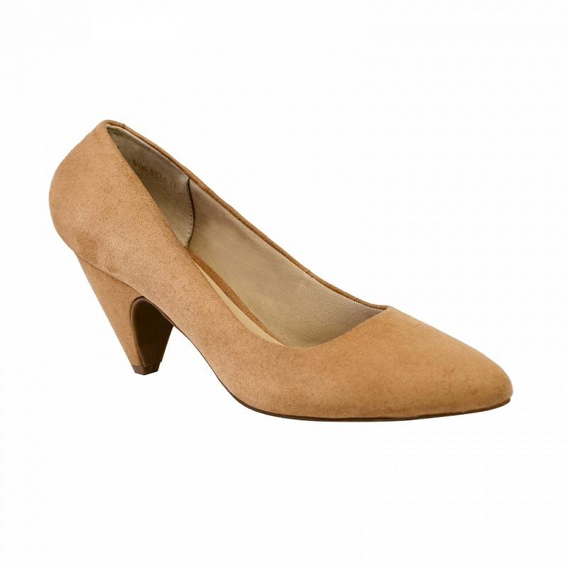 Giày bít nữ gót nhọn BMN 0167 - vascara