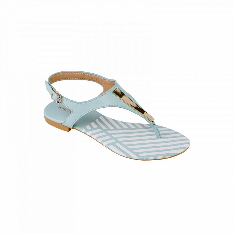 Giày Sandal nữ đế bệt SDK 0250 - vascara
