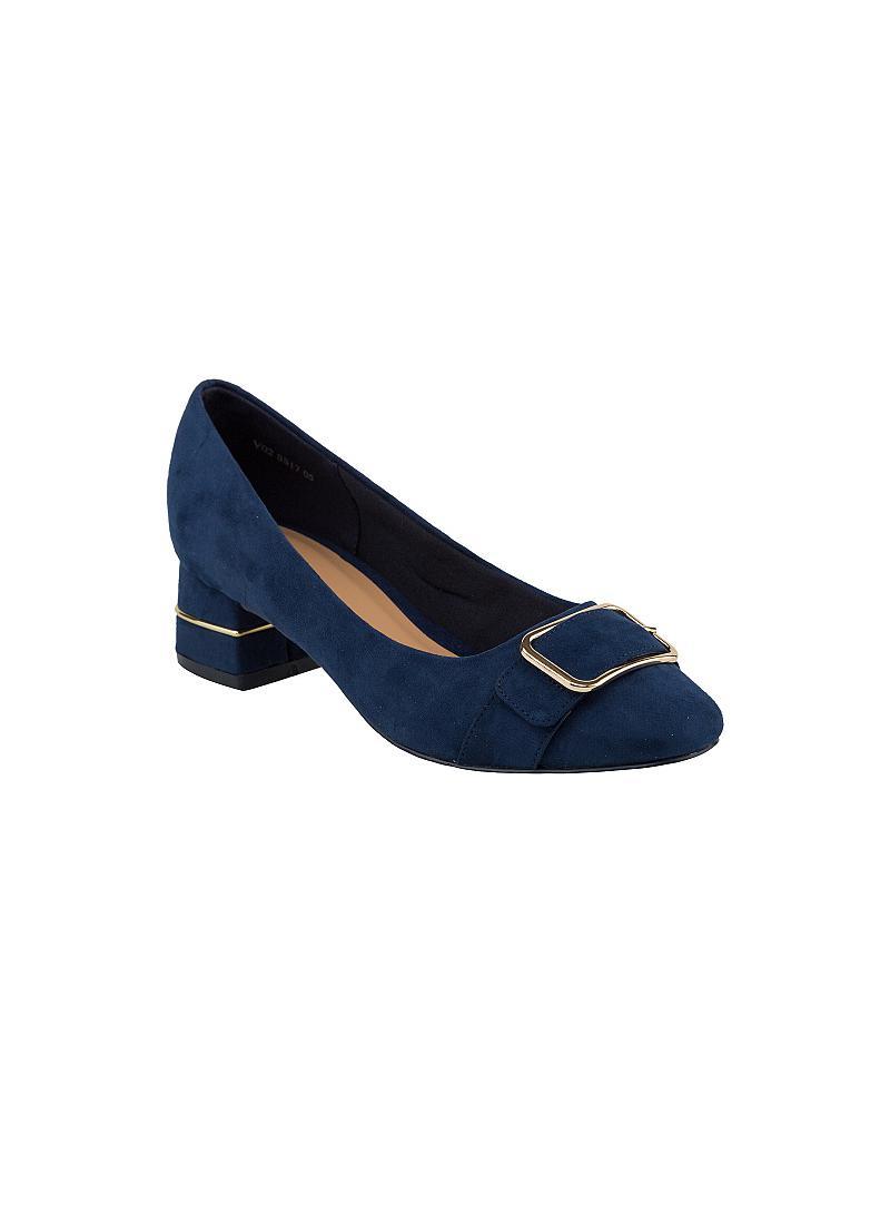 Giày bít nữ gót vuông BMT 0424 - vascara