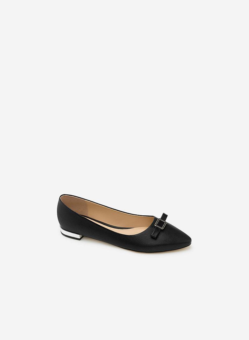 Giày Búp Bê GBB 0397 - Màu Đen - vascara