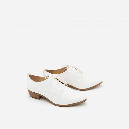 Giày Lười MOI 0089 - Màu Trắng