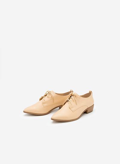 Giày Lười MOI 0089 - Màu Be