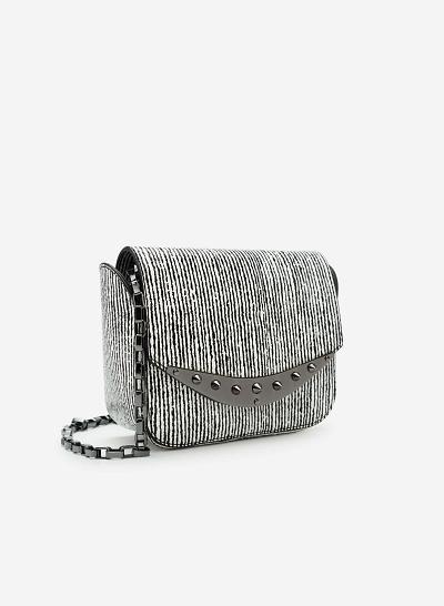 Túi đeo chéo SHO 0087 - Màu Trắng - vascara.com