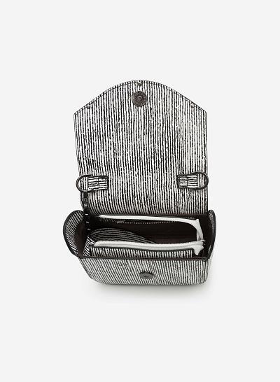 Túi đeo chéo SHO 0087 - Màu Trắng - VASCARA
