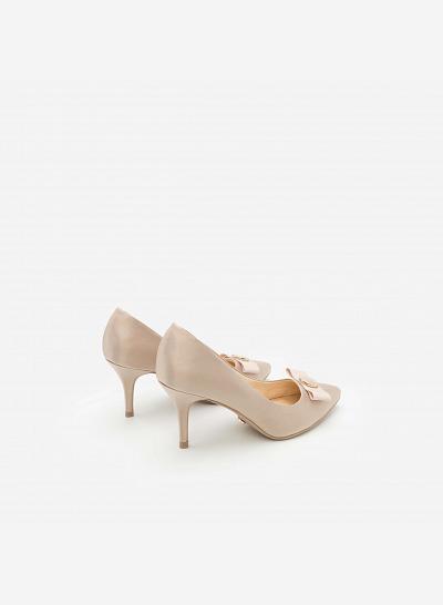 Giày Cao Gót BMN 0243 - Màu Be - VASCARA