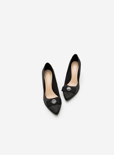 Giày Cao Gót BMN 0243 - Màu Đen - VASCARA