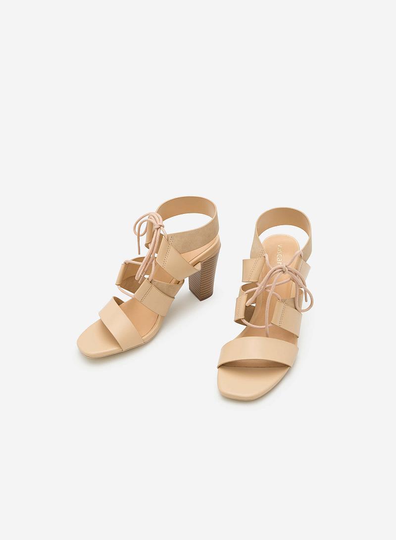Giày cao gót SDN 0578 - Màu Be - vascara