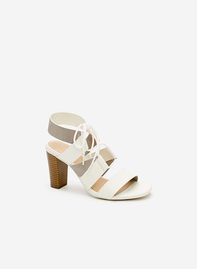Giày cao gót SDN 0578 - Màu Trắng