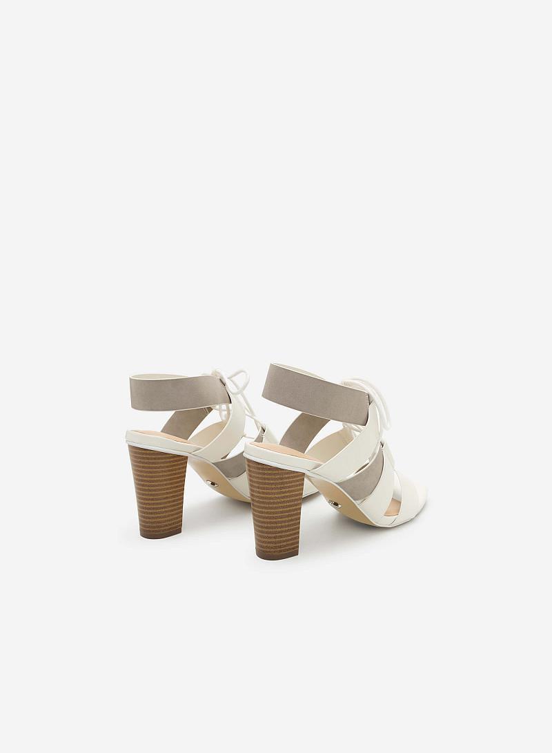 Giày cao gót SDN 0578 - Màu Trắng - vascara