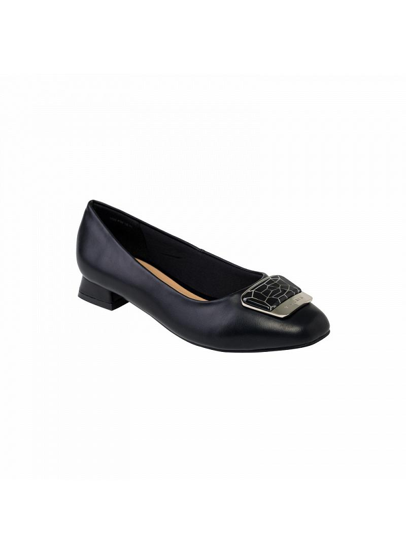 Giày bít nữ gót vuông BMT 0412 - vascara
