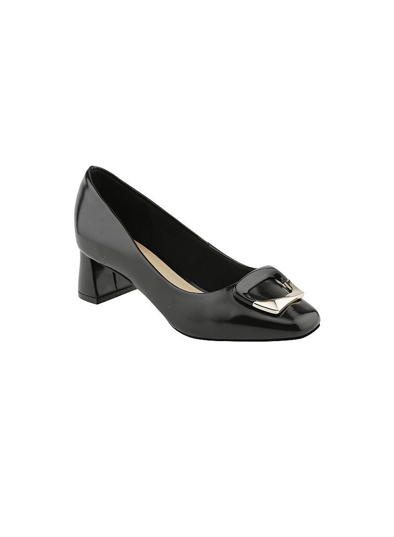 Giày bít nữ gót vuông BMT 0427 - vascara