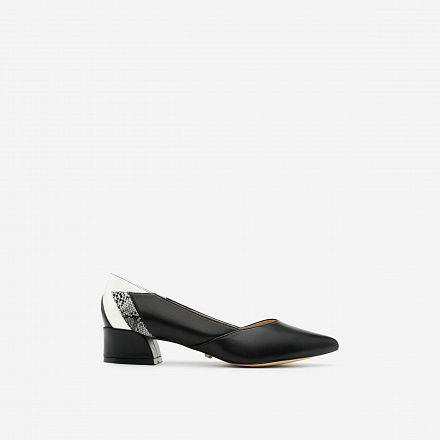Giày bít gót vuông BMN 0238