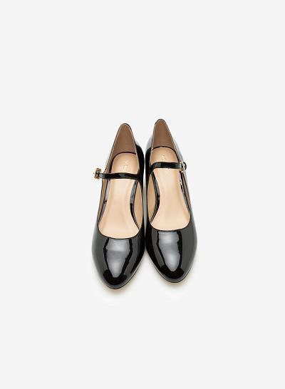 Giày bít gót vuông BMT 0445 - Màu Đen - vascara