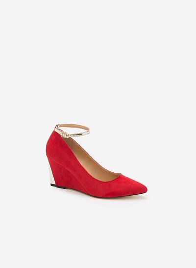 Giày cao gót BMN 0244 - Màu Đỏ - VASCARA