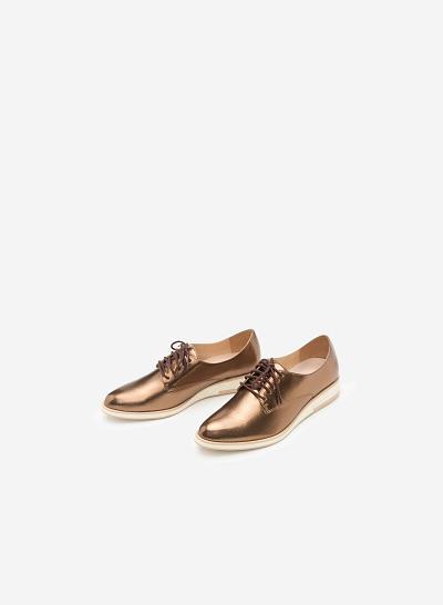 Xem sản phẩm Giày sneaker SNK 0003 - Màu Đồng
