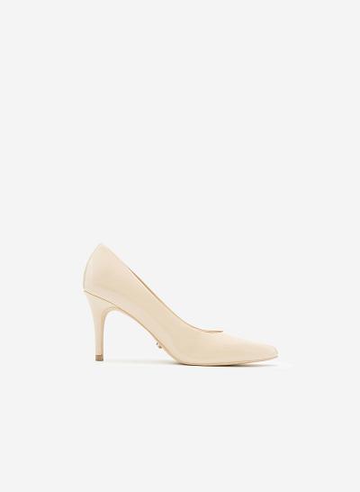 Giày cao gót BMN 0239 - Màu Kem