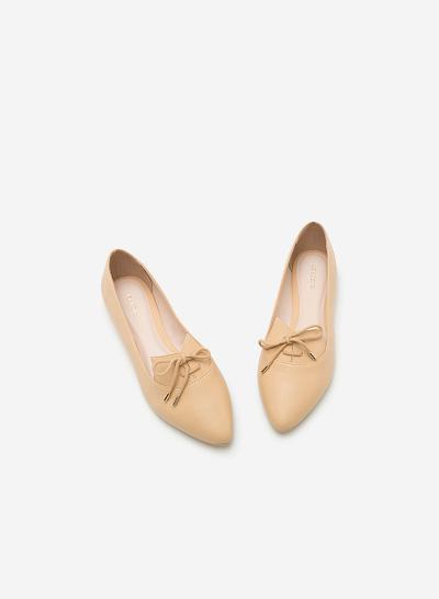 Giày lười MOI 0091 - Màu Be - vascara.com