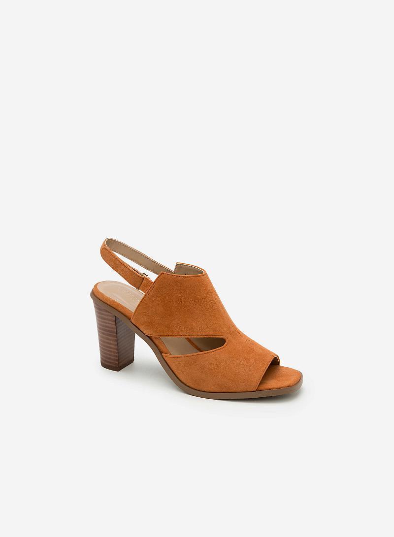 Giày cao gót SDN 0568 - Màu Nâu - vascara