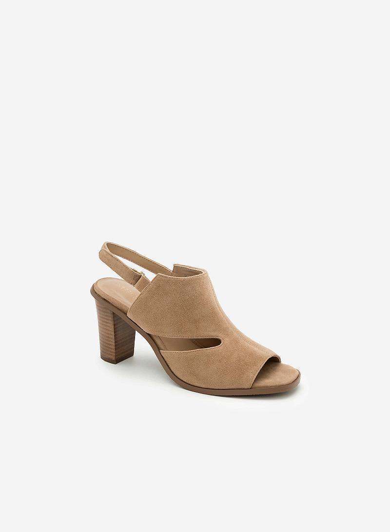 Giày cao gót SDN 0568 - Màu Be - VASCARA