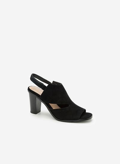 Giày cao gót SDN 0568 - Màu Đen - vascara.com
