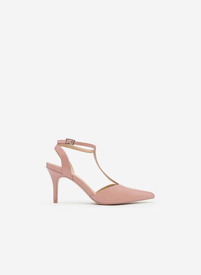 Giày cao gót BMN 0241 - Màu Hồng