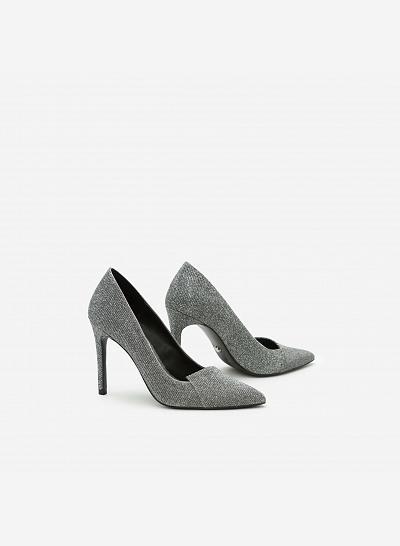 Giày cao gót BMN 0242 - Màu Bạc - vascara