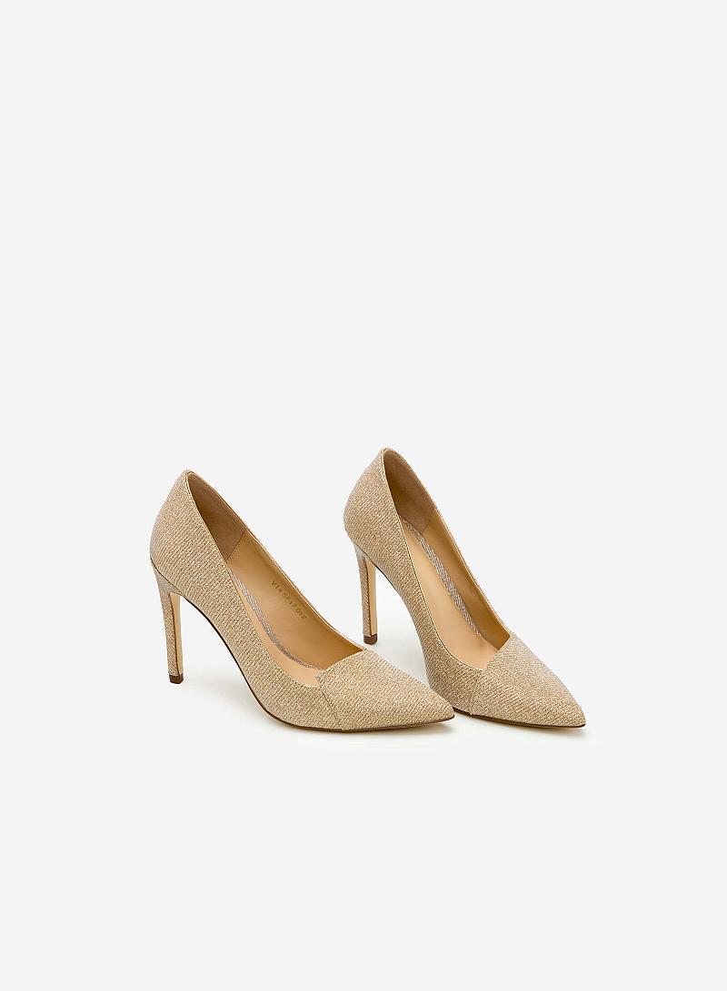 Giày cao gót BMN 0242 - Màu Gold - vascara