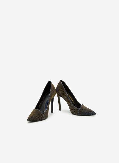 Giày cao gót BMN 0242 - Màu Xanh dương