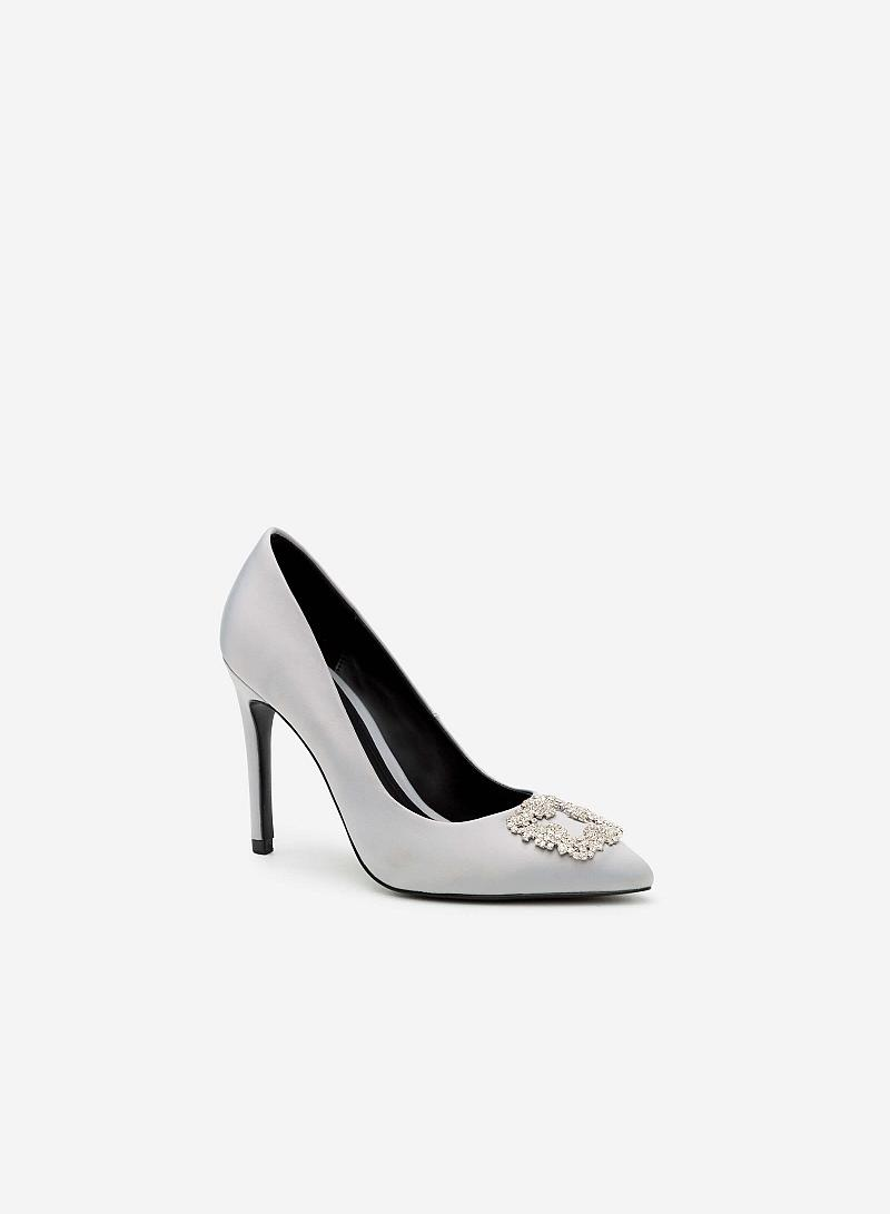 Giày cao gót BMN 0260 - Màu Xám - vascara