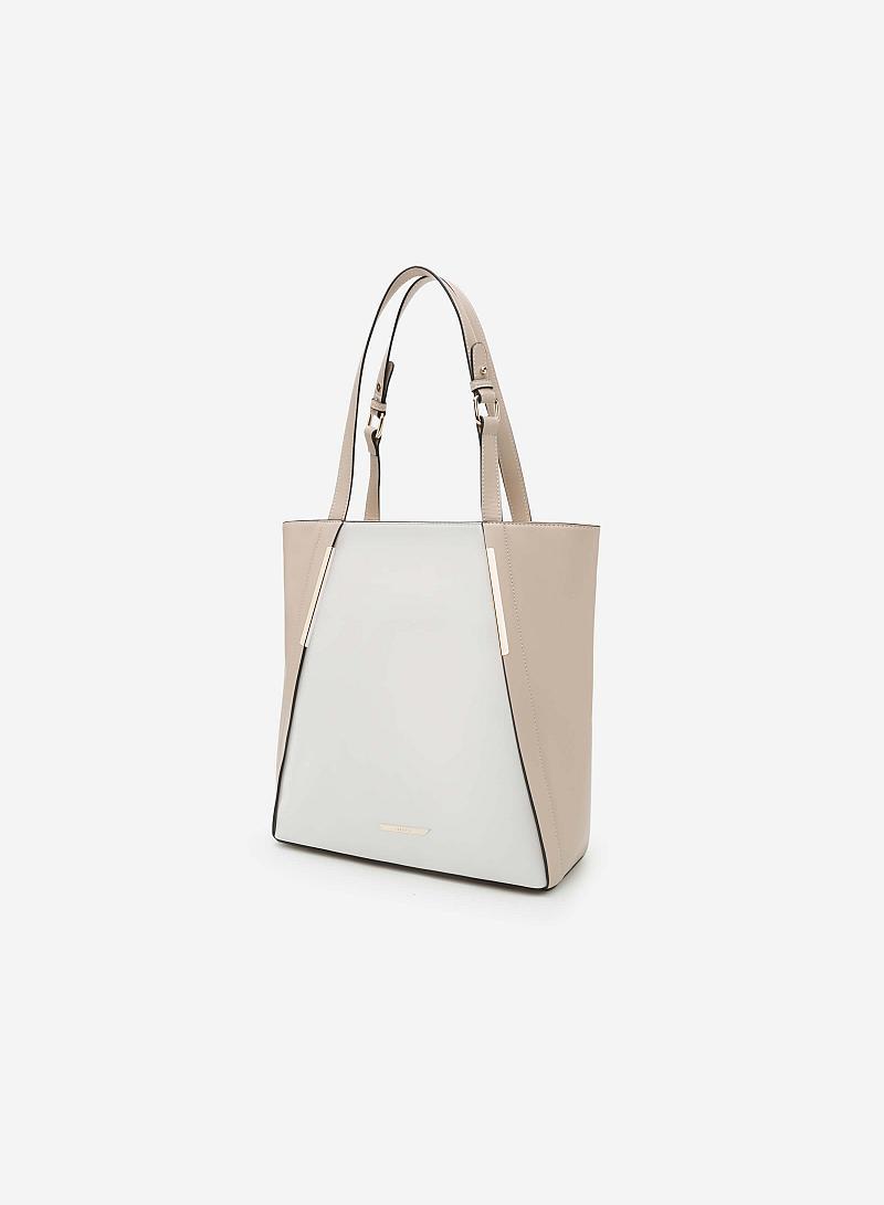 Túi xách tay TOT 0029 - Màu Kem - vascara