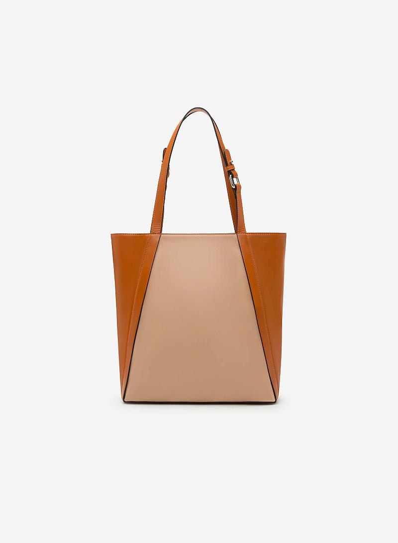 Túi xách tay TOT 0029 - Màu Nâu - vascara