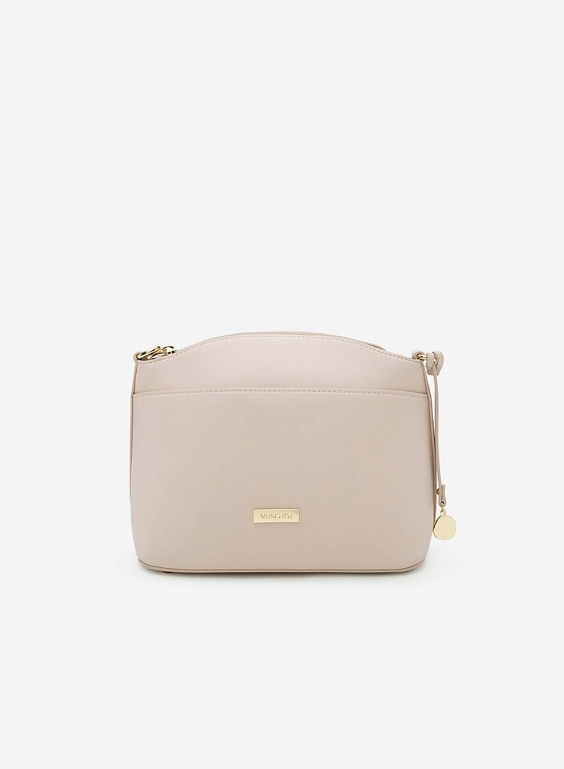 Túi đeo chéo SHO 0090 - Màu Be - vascara