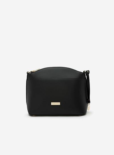 Túi đeo chéo SHO 0090 - Màu Đen - VASCARA