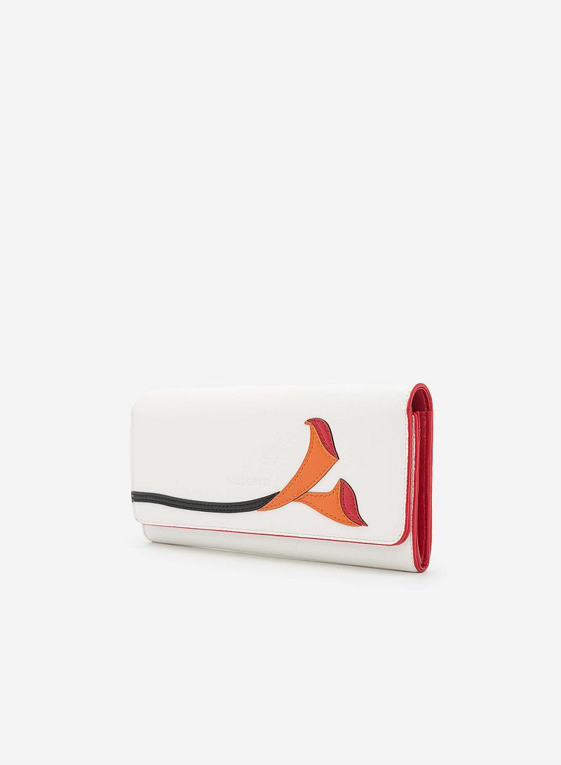 Ví cầm tay WAL 0123 - Màu Trắng - vascara