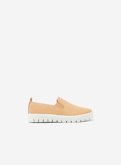 Xem sản phẩm Giày Lười MOI 0090 - Màu Kem