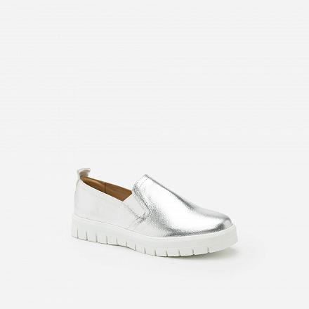 Giày Lười MOI 0090 - Màu Bạc