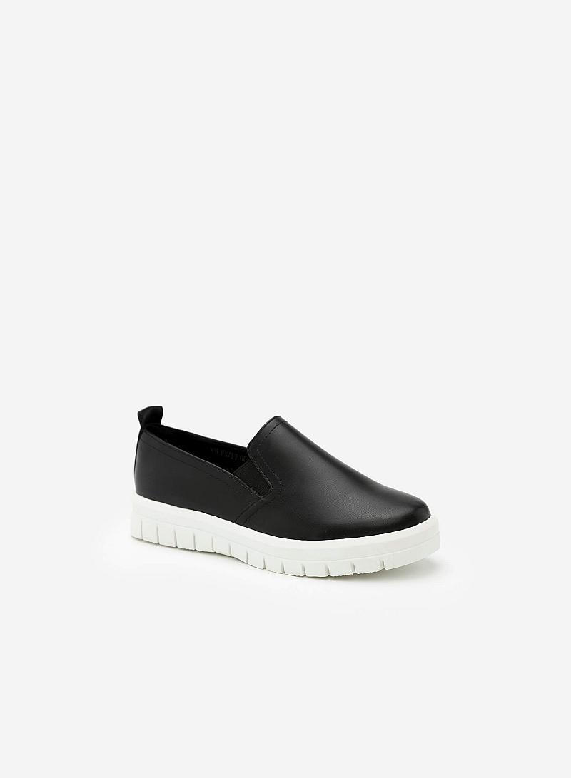 Giày Lười MOI 0090 - Màu Đen - vascara