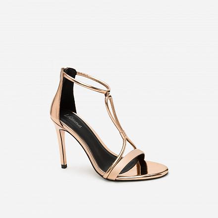 Giày Cao Gót SDN 0569 - Màu Vàng Hồng