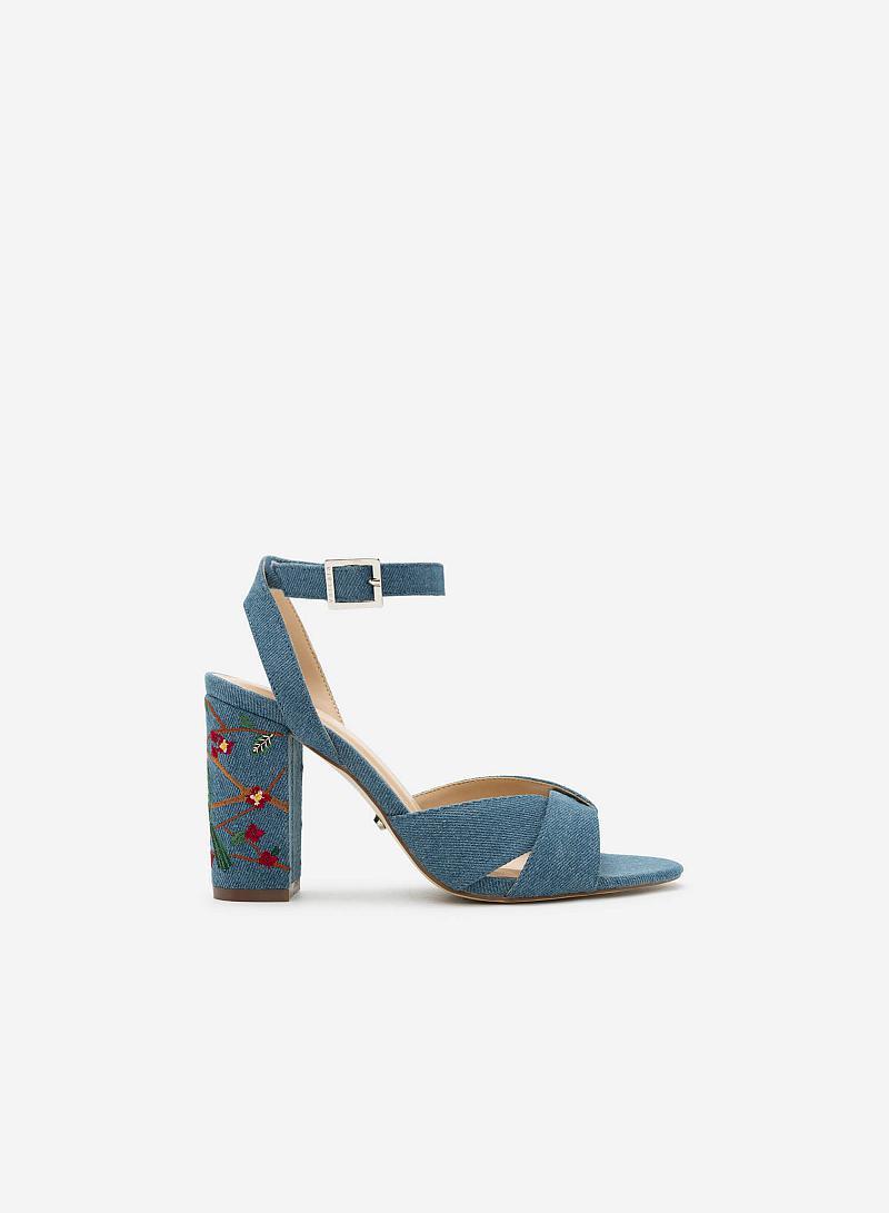 Giày Cao Gót SDN 0570 - Màu Xanh Da Trời - vascara