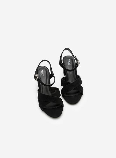 Giày Cao Gót SDN 0572 - Màu Đen - VASCARA