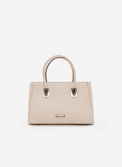 Túi xách tay SAT 0121 - Màu Be