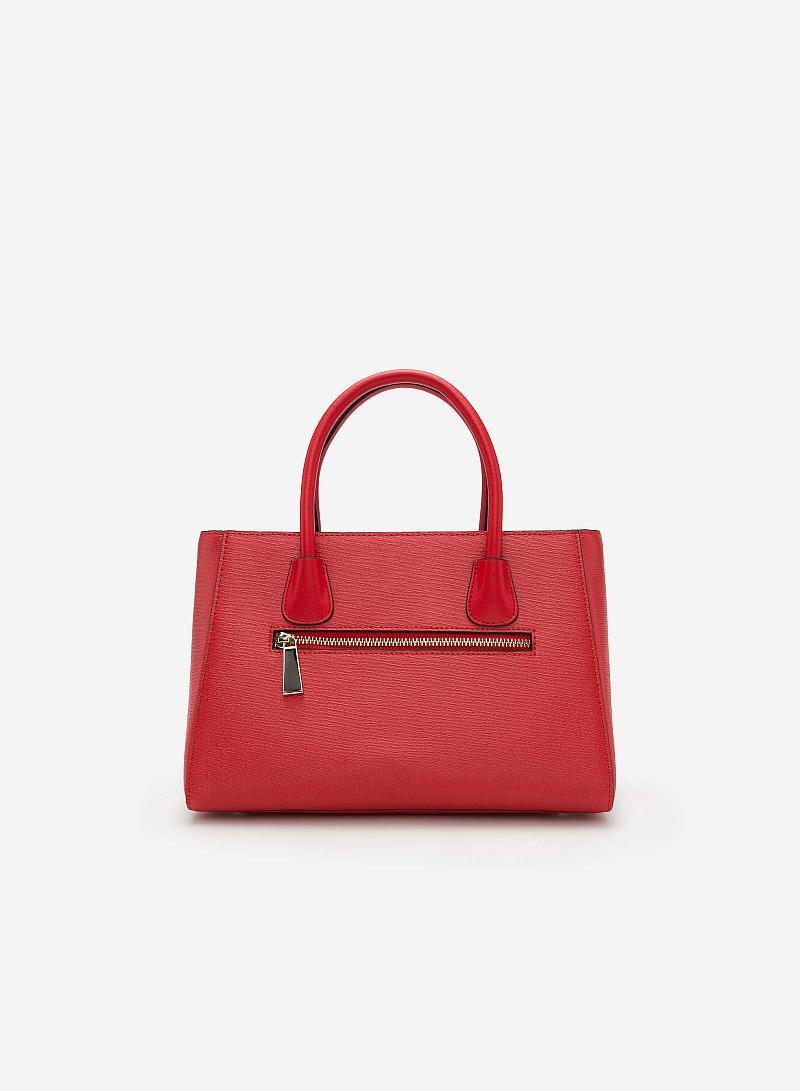 Túi xách tay SAT 0121 - Màu Đỏ - vascara