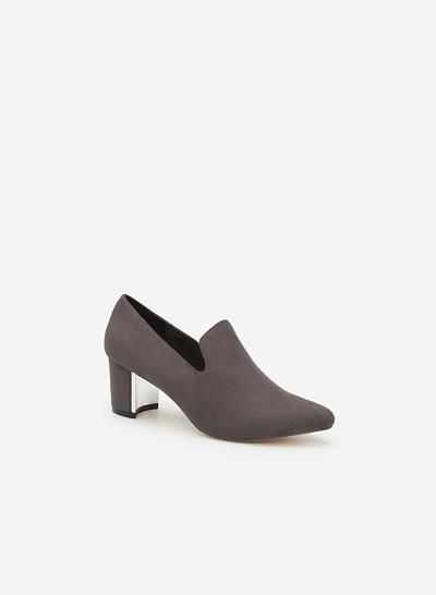 Giày bít gót trụ BMN 0231 - VASCARA