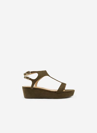 Giày sandal đế xuồng SDX 0382 - vascara.com