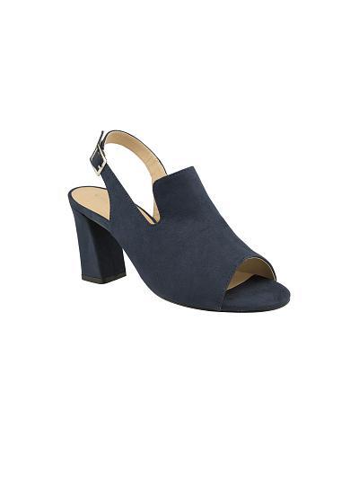 Giày sandal gót trụ SDN 0553 - vascara.com