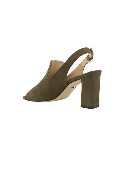 Giày sandal gót trụ SDN 0553 - VASCARA