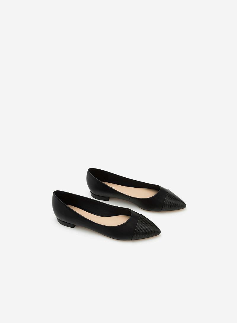 Giày Búp Bê GBB 0399 - Màu Đen - vascara