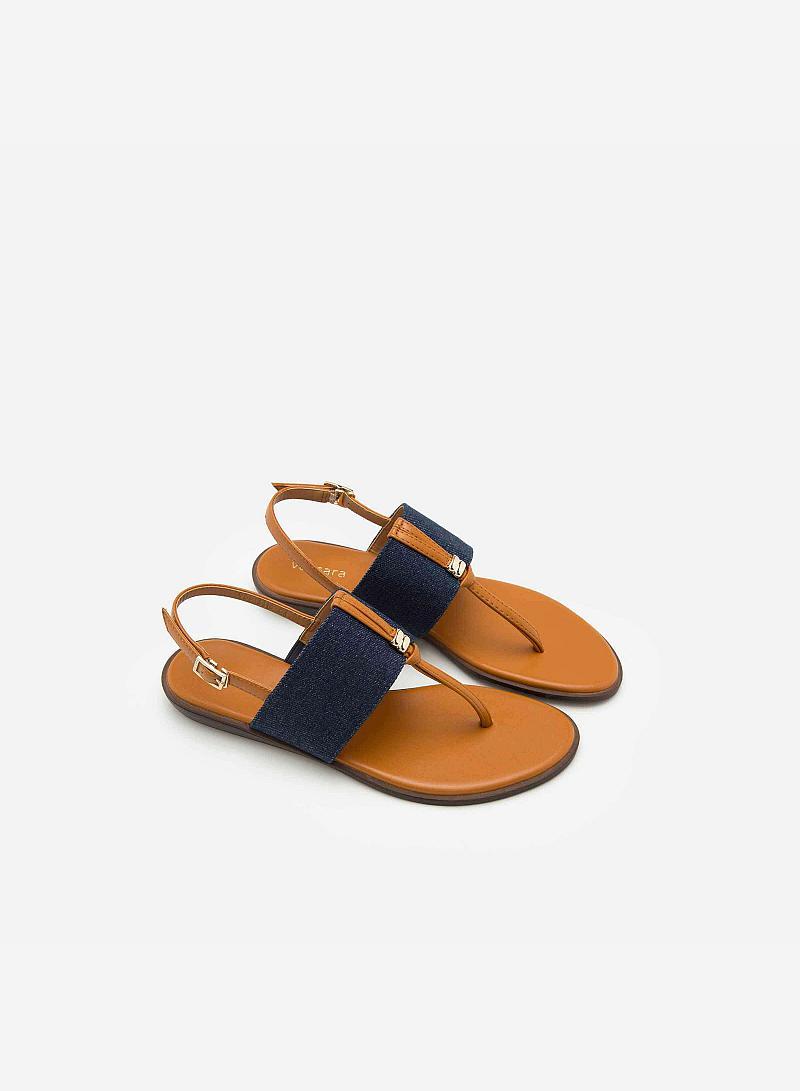 Giày Sandal Đế Bệt SDK 0269 - Màu Nâu - vascara
