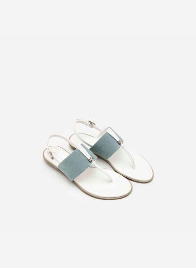 Giày Sandal Đế Bệt SDK 0269 - Màu Trắng - vascara.com